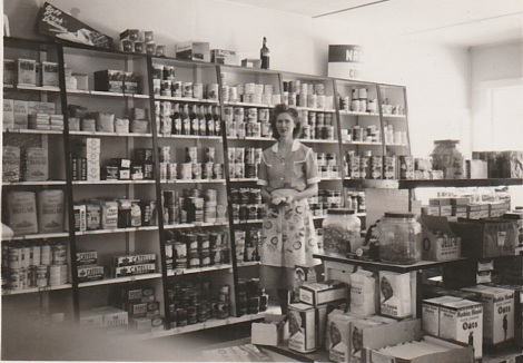 Question Mark Store, Margaret MacDonald 1949 Photo credit - Patsy Ormond