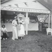 Centennial 1967 Fair Shannon's field- Kay Powell, Rene Fink -P. Ormond files